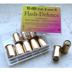 CARTUS ZGOMOT REVOLVER FLASH DEFENCE 9MM