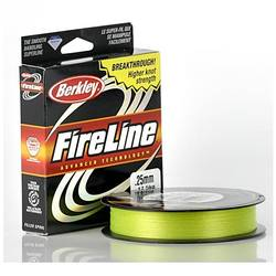 PURE FISHING XX FIR BERKLEY TEXTIL FIRELINE GALBEN FLUO 032MM/23,5KG/110M