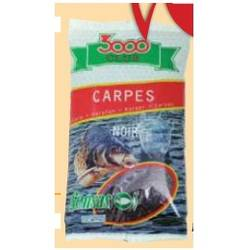 NADA SENSAS 3000 CLUB CARPES NOIR 1KG
