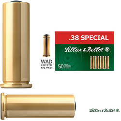 XX CARTUS S&B 38 SPECIAL WC/9,6G