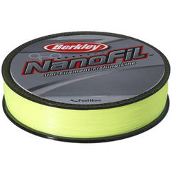 PURE FISHING FIR NANOFIL CHARTREUSE 012MM.6.9KG.125M BERKLEY