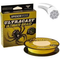 FIR SPIDERWIRE UC 8 BRAID FLUO 025MM.25,8KG.110M