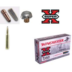 WINCHESTER CARTUS 7X64.SUPER.X.POWER POINT.10,6G