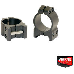WARNE SCOPE MOUNTS XX SET RING WEAWER 26MM OBIECTIV 20-36MM