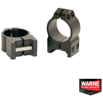 WARNE SCOPE MOUNTS SET RING WEAWER 26MM OBIECTIV 36-42MM