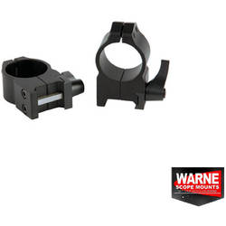 WARNE SCOPE MOUNTS XX SET RING QUICK WEAVER 30MM OBIECTIV 50-56MM