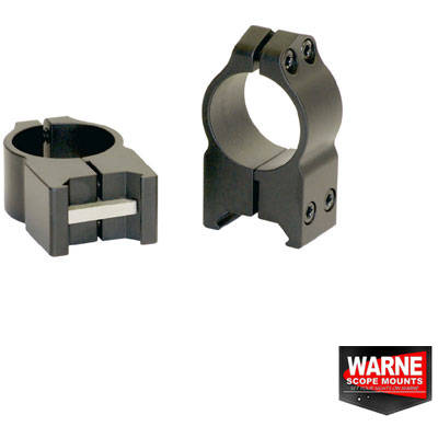 WARNE SCOPE MOUNTS XX SET RING WEAWER 30MM OBIECTIV 50-56MM