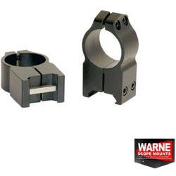WARNE SCOPE MOUNTS XX SET RING WEAWER 30MM OBIECTIV 56-62MM