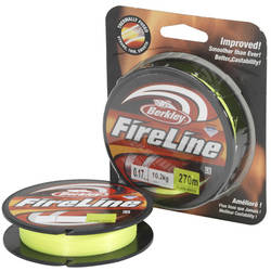 PURE FISHING FIR NEW 2014 FIRELINE GALBEN FLUO 012MM.6,8KG.110M