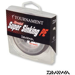 DAIWA FIR TOURNAMENT BRAID SINK 027MM/13,6KG/150M