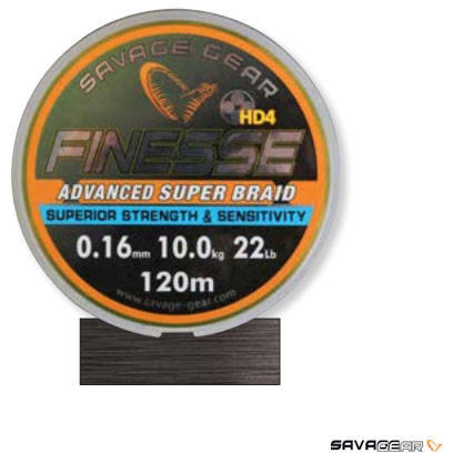 SAVAGE GEAR XX FIR SAVAGE TEXTIL FINEZZE YELLOW 022MM/15KG 120M