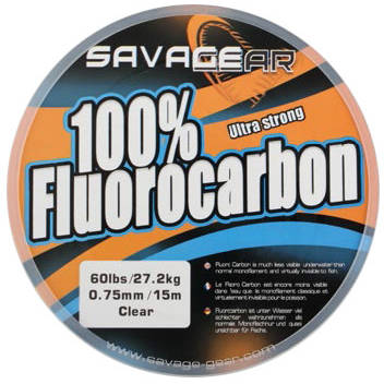 SAVAGE GEAR FIR FLUOROCARBON 0.36MM/7,5KG 50M