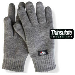 EIGER MANUSI TRICOTATE GRI THINSULATE 3M MAR.L
