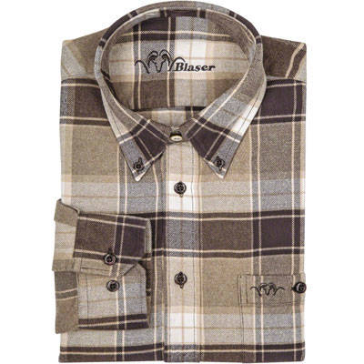 BLASER ACTIVE OUTFITS CAMASA HAMMERSFEST FLANNEL MAR.XL