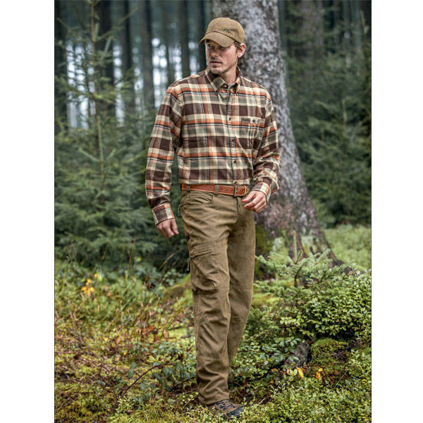 BLASER ACTIVE OUTFITS CAMASA LOM HEAVY FLANNEL MAR.XL