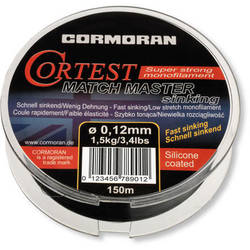 CORMORAN XX 37.615022 FIR CORM.CORTEST MATCH MASTER 022MM/4,6KG/150M