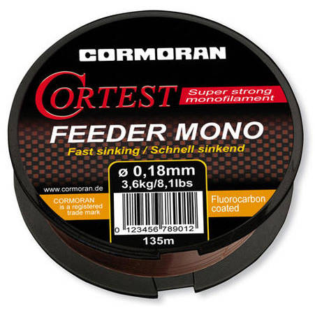 CORMORAN FIR CORTEST FEEDER S 030MM/8,1KG/135M