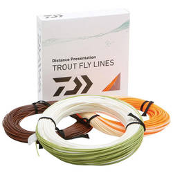 DAIWA FIR MUSCA ORANGE FLY LINE/PLUTIT/WF/CLS6