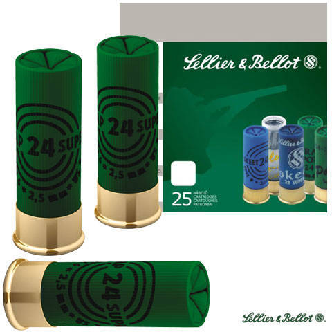SELLIER & BELLOT CARTUS TIR SPORTIV CAL.12/70/24G/2,4MM SUPER TRAP(7,5)