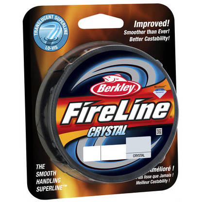 PURE FISHING FIR NEW 2014 FIRELINE CRYSTAL 010MM/5,9KG/110M