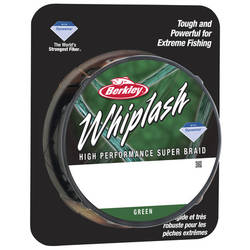 FIR NEW WHIPLASH VERDE 025MM 37,8KG 110M BERKLEY