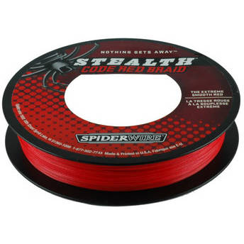 PURE FISHING FIR NEW STEALTH RED 014MM 10,2KG 110M