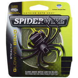 PURE FISHING XX FIR NEW SPIDERWIRE TEXTIL STEALTH GLOW 014MM 10,2KG 137M