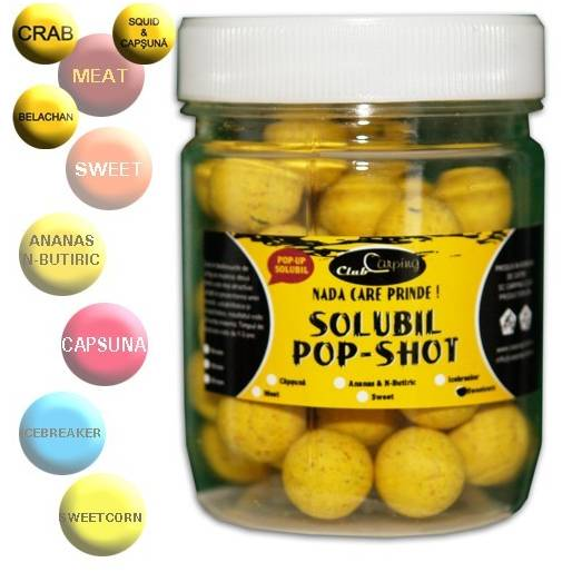 BOILIES POP-UP SOLUBIL MEAT SQUID&CAPSUNA 10MM