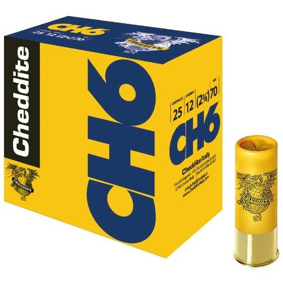 CHEDDITE CH6 CAL.12/70/34G/3,9MM  (0)