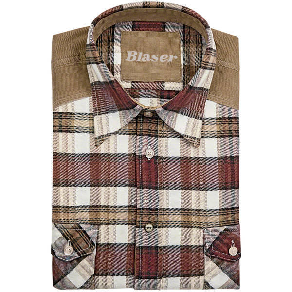 BLASER ACTIVE OUTFITS CAMASA JAKOB HEAVY FLANNEL MAR.XL