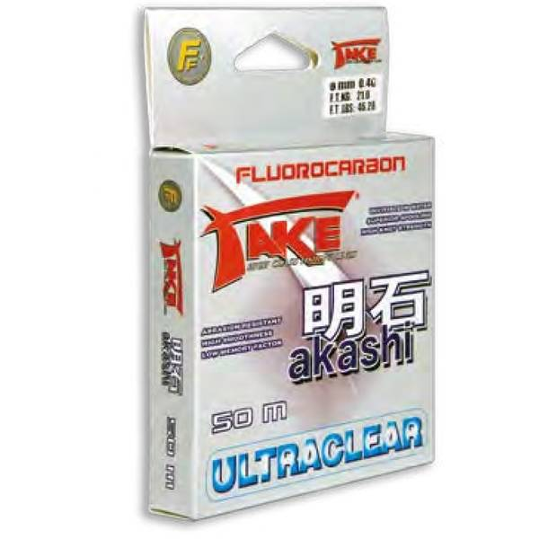 LINEAEFFE FLUOROCARBON AKASHI 020MM/8KG/50M