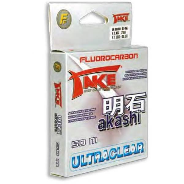 LINEAEFFE FLUOROCARBON AKASHI 050MM/29KG/50M
