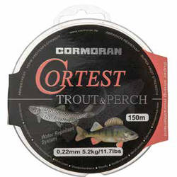 XX FIR CORM.CORTEST TROUT&PERCH 014MM/2,3KG/150M