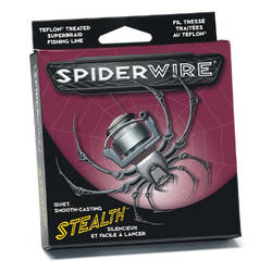 PURE FISHING XX FIR SPIDERWIRE TEXTIL STEALTH FLUO 025MM/22,95KG/137M