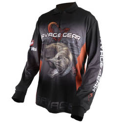 SAVAGE GEAR BLUZA TOUR.JERSEY PIKE/ZANDER/PERCH MAR.XL