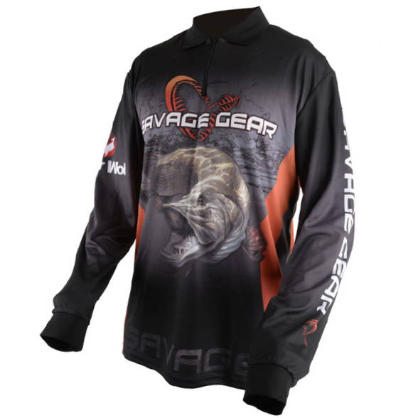 SAVAGE GEAR BLUZA TOUR.JERSEY PIKE/ZANDER/PERCH MAR.2XL