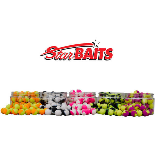 SENSAS POP-UP STARBAITS FLUORO LITE YEL/PU D=14MM/60G