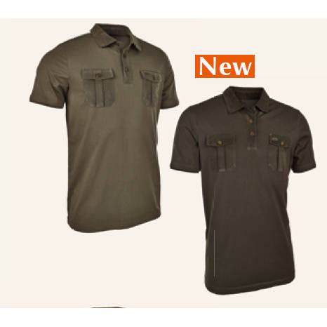 TRICOU BLASER POLO DAVID OLIVE MAR.M