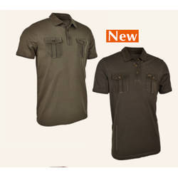 BLASER ACTIVE OUTFITS TRICOU BLASER POLO DAVID OLIVE MAR.M