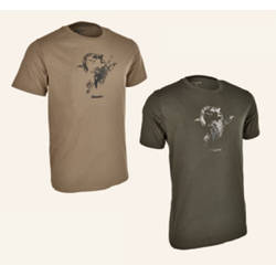 BLASER ACTIVE OUTFITS TRICOU LOGO SAND MAR.M