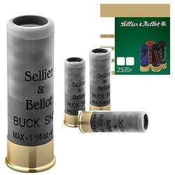 SELLIER & BELLOT BUCK SHOT CALIBRUL 12/70/36G/5,0MM(5/0)