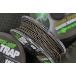 XX FIR N-TRAP SEMI STIFF COATED 20M/15LBS KORDA