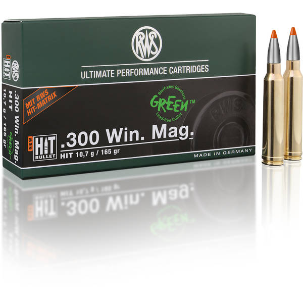 RWS CARTUS 308WIN/HIT/10,7G
