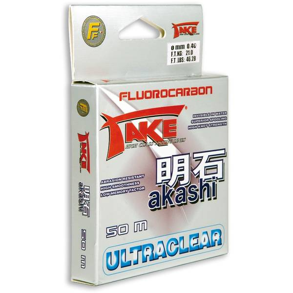 LINEAEFFE FLUOROCARBON AKASHI 045MM/25KG/50M