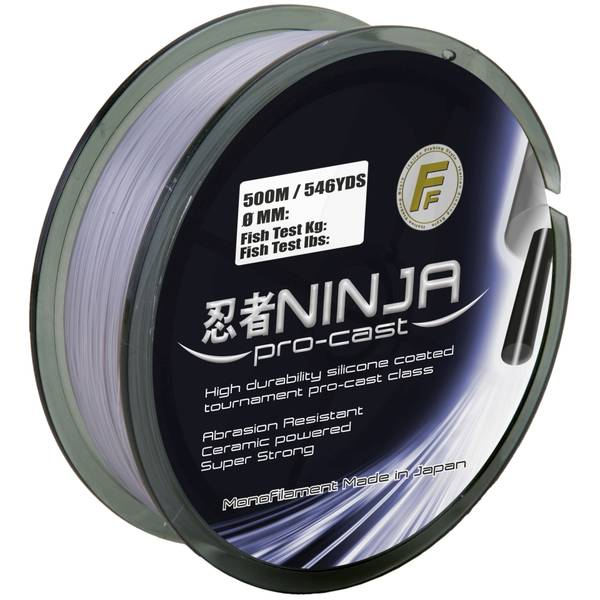 LINEAEFFE NINJA PRO CAST GREY 020MM/7,1KG/250M
