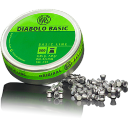 CUTIE METAL 500 DIABOLO BASIC 4,5MM 0,45G RWS