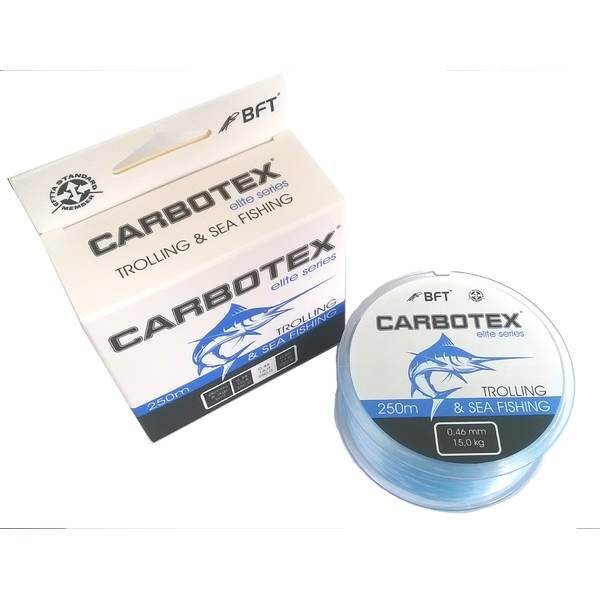 CARBOTEX FILAMENT FIR TROLLING&SEA FISHING 038MM/10,5KG/350M