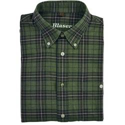 BLASER ACTIVE OUTFITS CAMASA URS FLANNEL MAR.XL