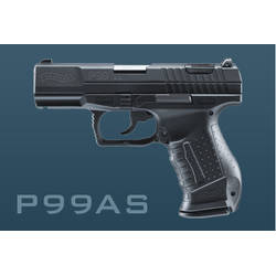 WALTHER P99 AS BLACK 9X19MM
