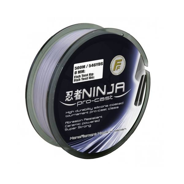 LINEAEFFE NINJA PRO CAST GREY 0,25MM/11,0KG 250M